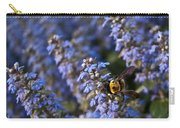 Ajuga And Bumblebee Carry-all Pouch