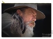 Akubra Man As A Chiaroscuro Painting Carry-all Pouch
