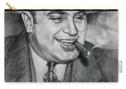 Al Capone  Carry-all Pouch by Ylli Haruni