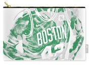 Al Horford Boston Celtics Pixel Art 6 Carry-all Pouch