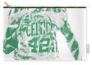 Al Horford Boston Celtics Pixel Art 7 Carry-all Pouch