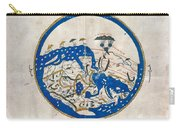 Al-idrisi's World Map Carry-all Pouch