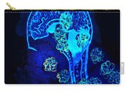 Al In The Mind Black Light View Carry-all Pouch