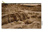 Alabama Hills California B W Carry-all Pouch