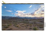 Alabama Hills Sunset  Carry-all Pouch