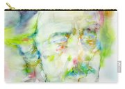 Alan Watts - Watercolor Portrait.3 Carry-all Pouch