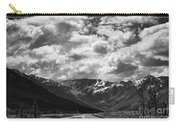 Alaska Bw On The Road  Carry-all Pouch