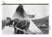 Alaska: Tepee, C1916 Carry-all Pouch