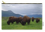Alaska Wood Bison Carry-all Pouch
