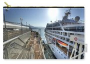 Alaskan Cruise Ship Berthed In Vancouver Carry-all Pouch
