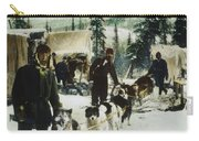 Alaskan Dog Sled, C1900 Carry-all Pouch