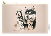Alaskan Malamute Carry-all Pouch
