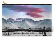 Alaskan Range At Sunset Carry-all Pouch