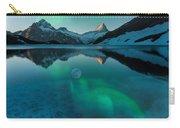 Alaskan Winter Night By Adam Asar 2 Carry-all Pouch