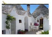 Alberobello Courtyard With Trulli Carry-all Pouch