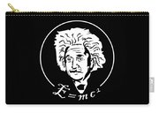 Albert Einstein Discoverer Of The Law Of Relativity Carry-all Pouch