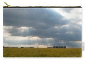 Alberta Wheat Field Carry-all Pouch by Stuart Turnbull