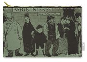 "Album Cover For ""paris Intense"" Carry-all Pouch"