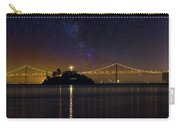 Alcatraz Island Under The Starry Night Sky Carry-all Pouch
