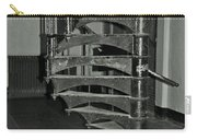 Alcatraz Stairs In Bw Carry-all Pouch