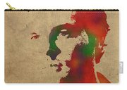 Alden Ehrenreich Watercolor Portrait Carry-all Pouch