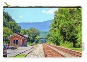 Alderson Train Depot And Tracks Alderson West Virginia Carry-all Pouch
