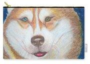 Alek The Siberian Husky Carry-all Pouch