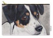 Alert Little Rat Terrier  Carry-all Pouch