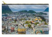 Alesund Norway Cityscape Carry-all Pouch