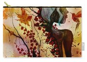 Alex In Wonderland Carry-all Pouch by Denise Tomasura