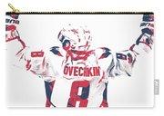 Alexander Ovechkin Washington Capitals Pixel Art 9 Carry-all Pouch