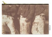 Alexander Rutherford, William Ramsay And John Linton Carry-all Pouch