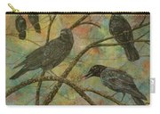 Alex's Crows Carry-all Pouch
