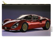 Alfa Romeo 33 Stradale 1967 Painting Carry-all Pouch