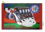 Alfa Romeo Indy Engine Carry-all Pouch