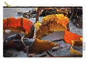 Algae At Low Tide Carry-all Pouch by Heiko Koehrer-Wagner