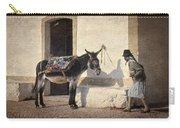 Algarve Donkey Carry-all Pouch
