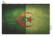 Algeria Distressed Flag Dehner Carry-all Pouch