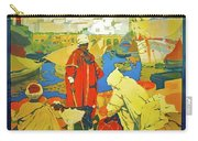 Algeria, Traditional Market, Tourist Advertising Poster Carry-all Pouch