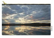 Algonquin Lake Sunset Carry-all Pouch