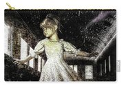Alice And The Rabbit Carry-all Pouch by Bob Orsillo
