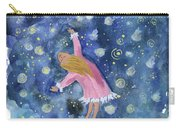 Alice Flying Inthe Night Sky Carry-all Pouch