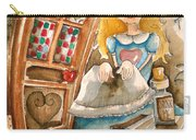 Alice In Wonderland 2 Carry-all Pouch by Lucia Stewart