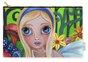 Alice Meets The Caterpillar Carry-all Pouch