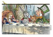 Alices Mad-tea Party, 1865 Carry-all Pouch