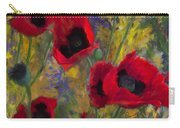Alicias Poppies Carry-all Pouch