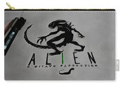 Alien On Marker Carry-all Pouch