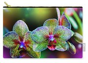 Alien Orchids Carry-all Pouch by Bill Tiepelman