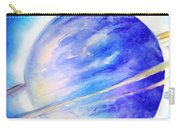 Alien Planet. Blue Light Of Hope Carry-all Pouch