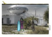 Alien Space Ship House Florida Architecture Carry-all Pouch